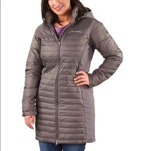 Columbia Long Grey Jacket